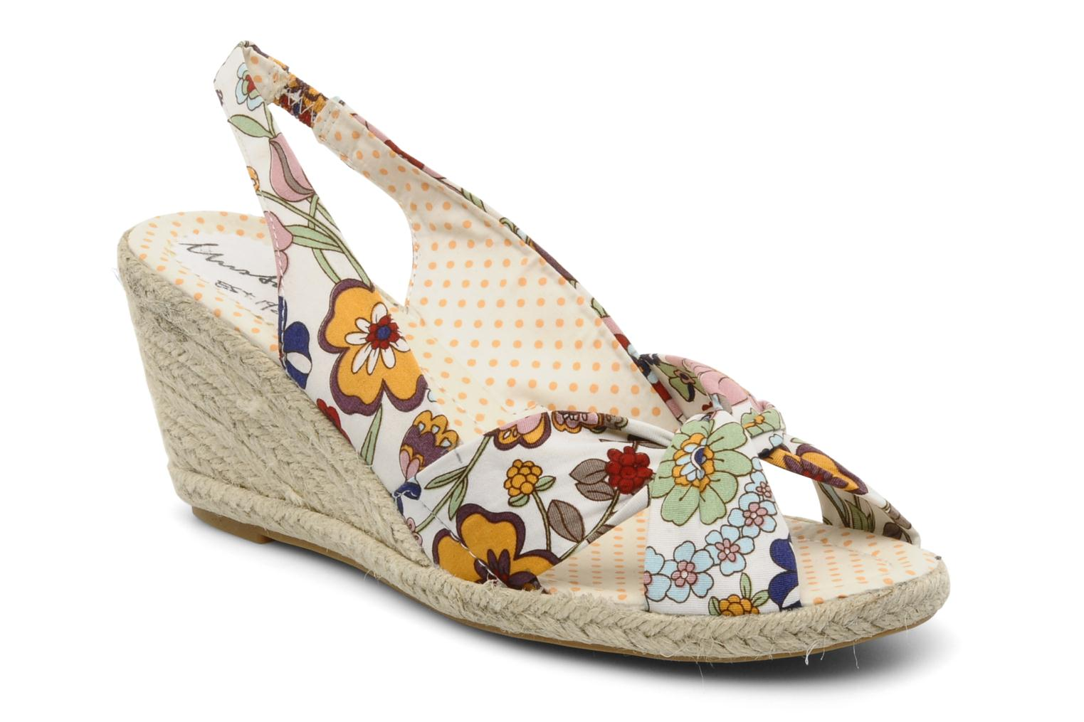Sandalen Mustang shoes Curly Multicolor detail