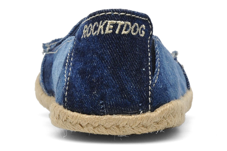 Espadrilles Rocket Dog Clover denim Blauw rechts