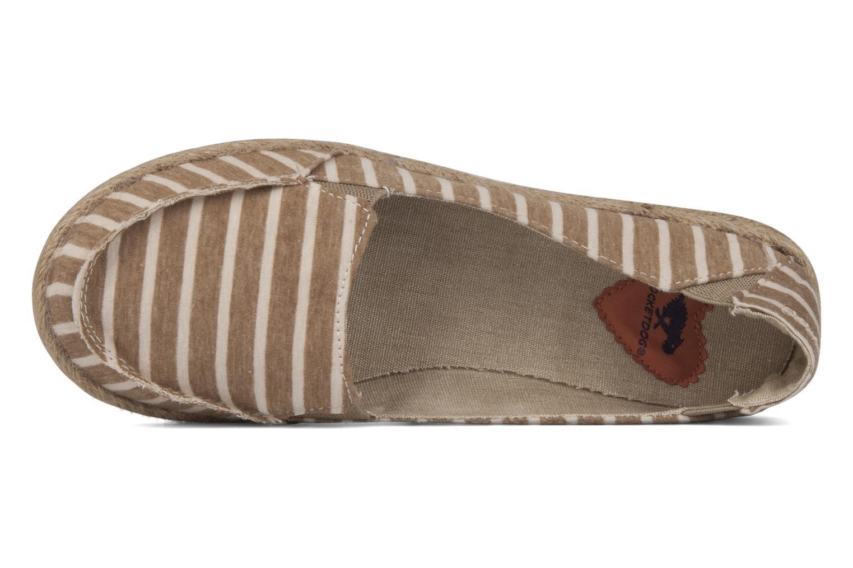 Espadrilles Rocket Dog Clover seaside stripe Beige links