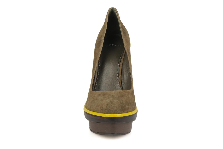 High heels Carvela Alpha Green model view