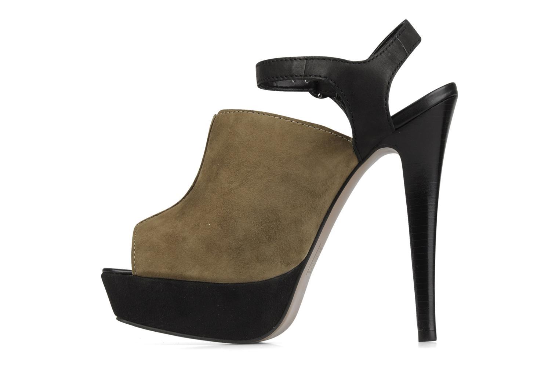 Sandales et nu-pieds Carvela Acoustic Vert vue face