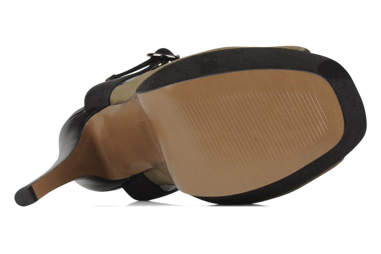 Sandales et nu-pieds Carvela Acoustic Vert vue haut