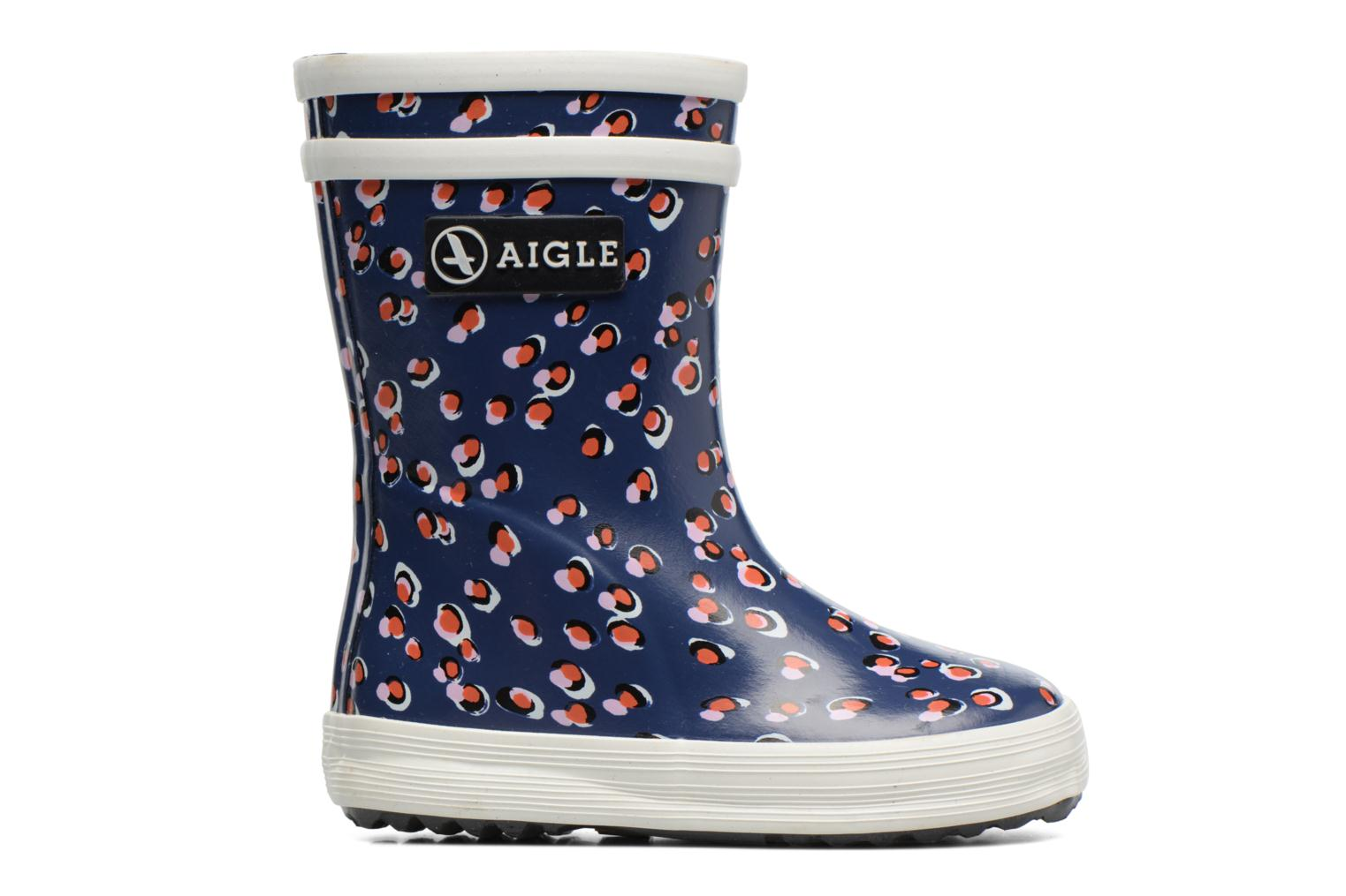 Boots & wellies Aigle Baby Flac Purple back view