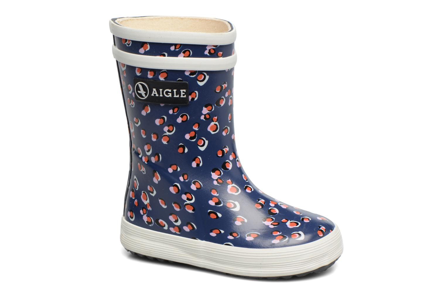 Boots & wellies Aigle Baby Flac Purple detailed view/ Pair view
