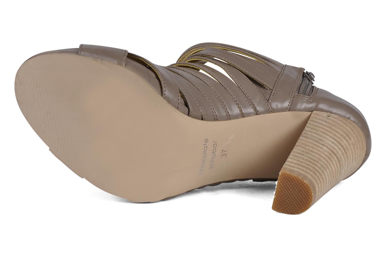 Stiefeletten & Boots Chocolate Schubar Viglio grau ansicht von oben
