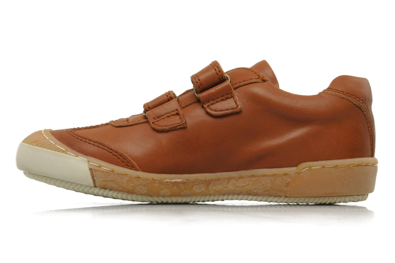 Trainers Bisgaard Sapote Brown front view