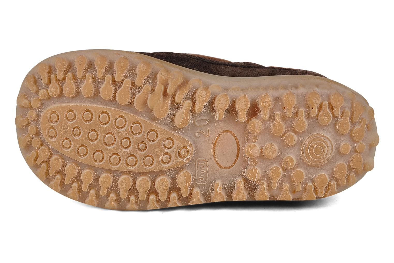 Loafers Bisgaard Maypop Brown view from above