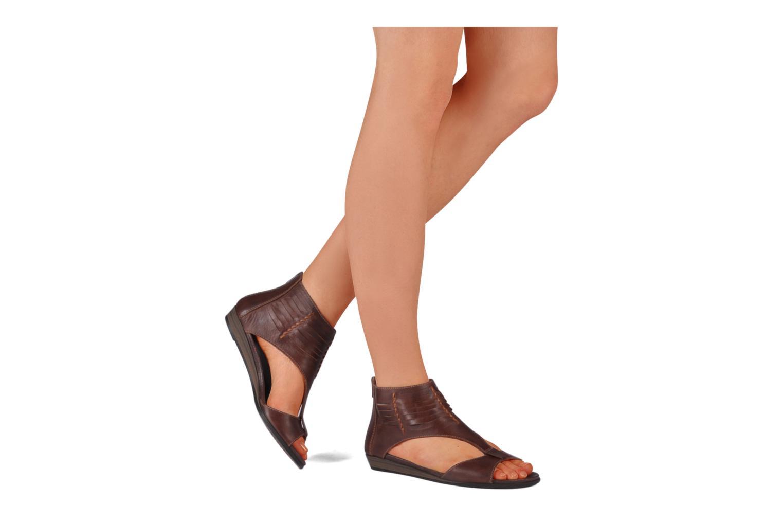 Sandali e scarpe aperte Pikolinos Alcudia 8262 Marrone immagine dal basso