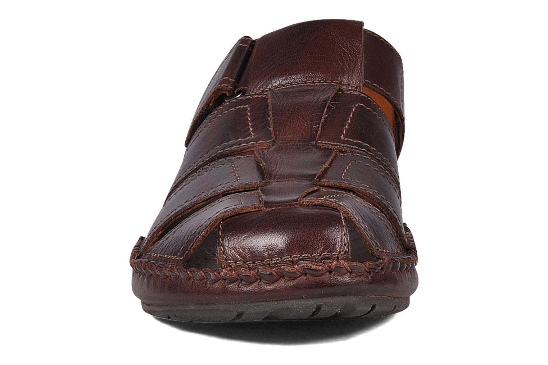 Sandalen Pikolinos Tarifa 5433 braun schuhe getragen