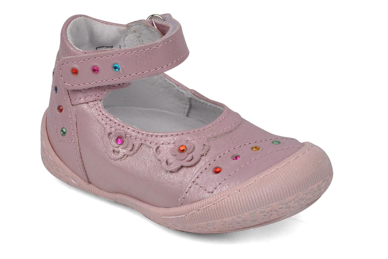Ballerinas Little Mary Hirondelle rosa detaillierte ansicht/modell