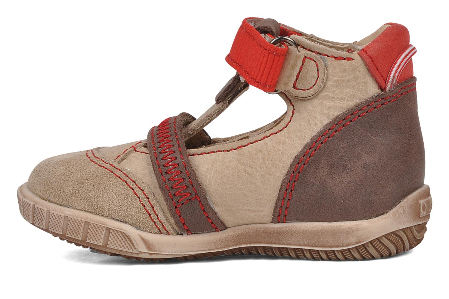 Summer boots Little Mary Hindou Beige front view