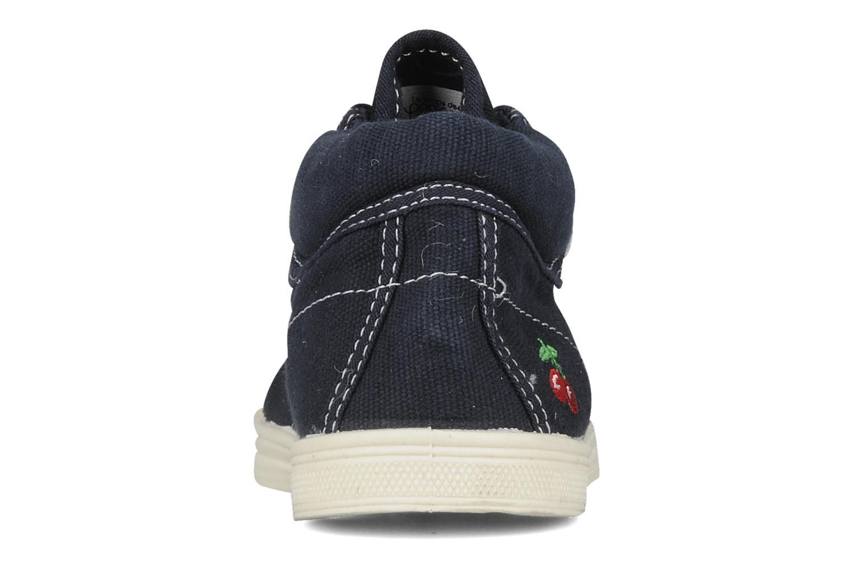 Sneakers Le temps des cerises Basic 03 Blauw rechts