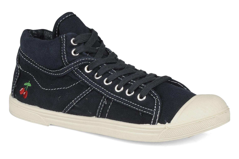 Sneakers Le temps des cerises Basic 03 Blauw detail