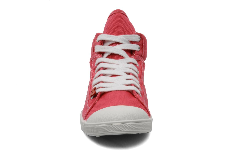 Sneaker Le temps des cerises Basic 03 rosa schuhe getragen