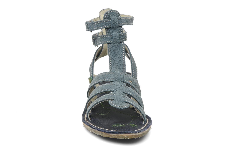 Sandales et nu-pieds El Naturalista Quercus 143 Bleu vue portées chaussures
