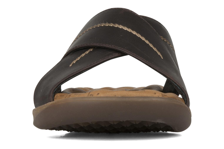 Sandals Panama Jack Kareb Brown model view