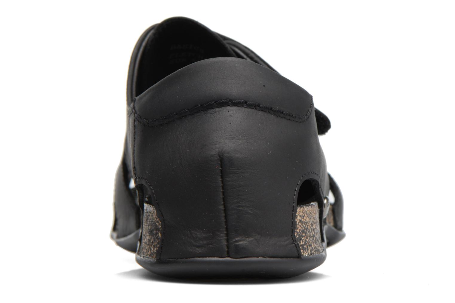 Sandals Panama Jack Fletcher Black view from the right