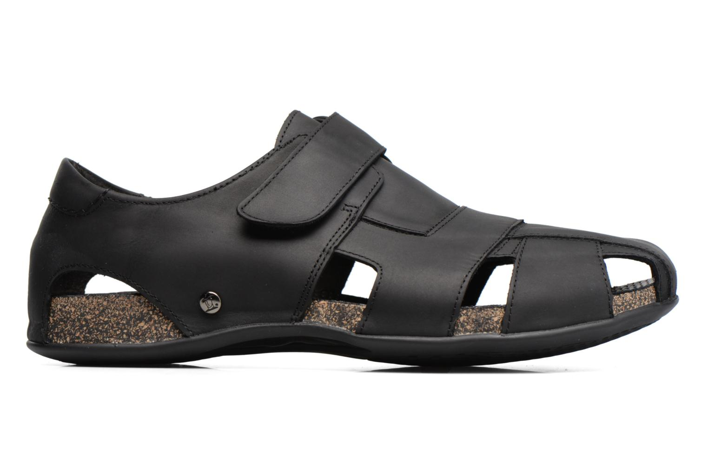 Sandalen Panama Jack Fletcher Zwart achterkant