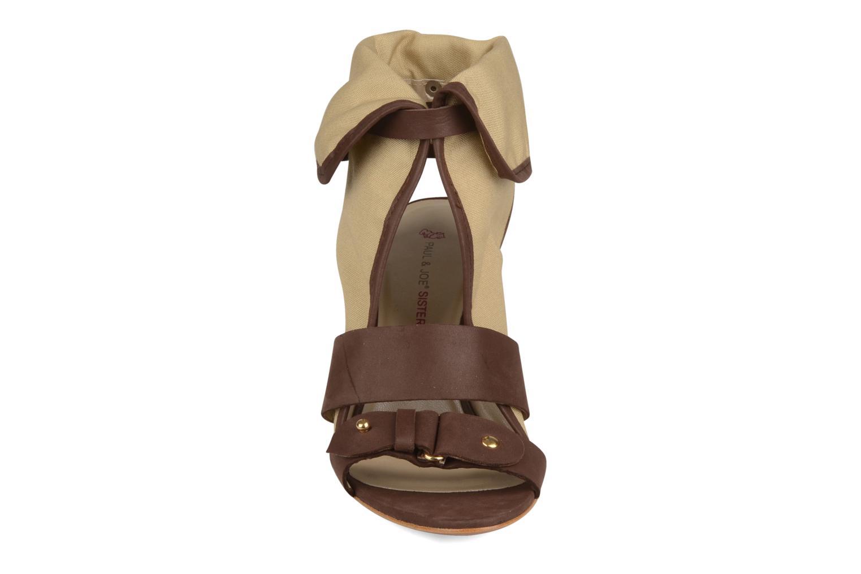 Sandales et nu-pieds Paul & Joe Sister Divine Beige vue portées chaussures