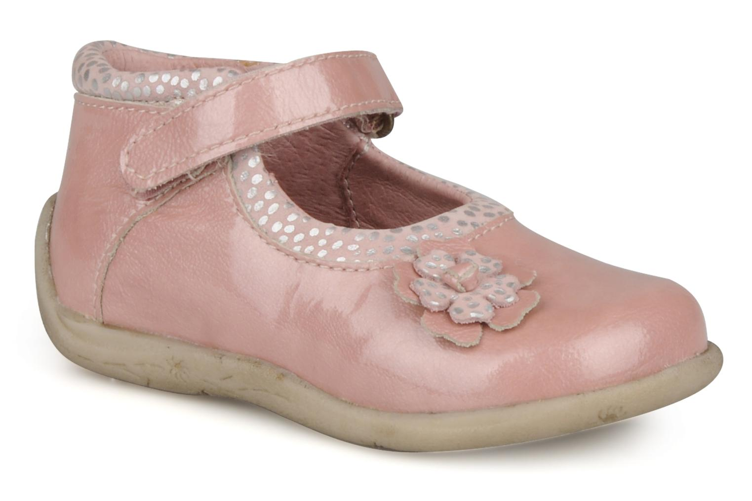 Ankle boots Babybotte Sissi Pink detailed view/ Pair view