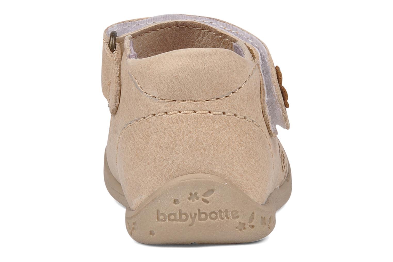 Bottines et boots Babybotte Souricete Beige vue droite