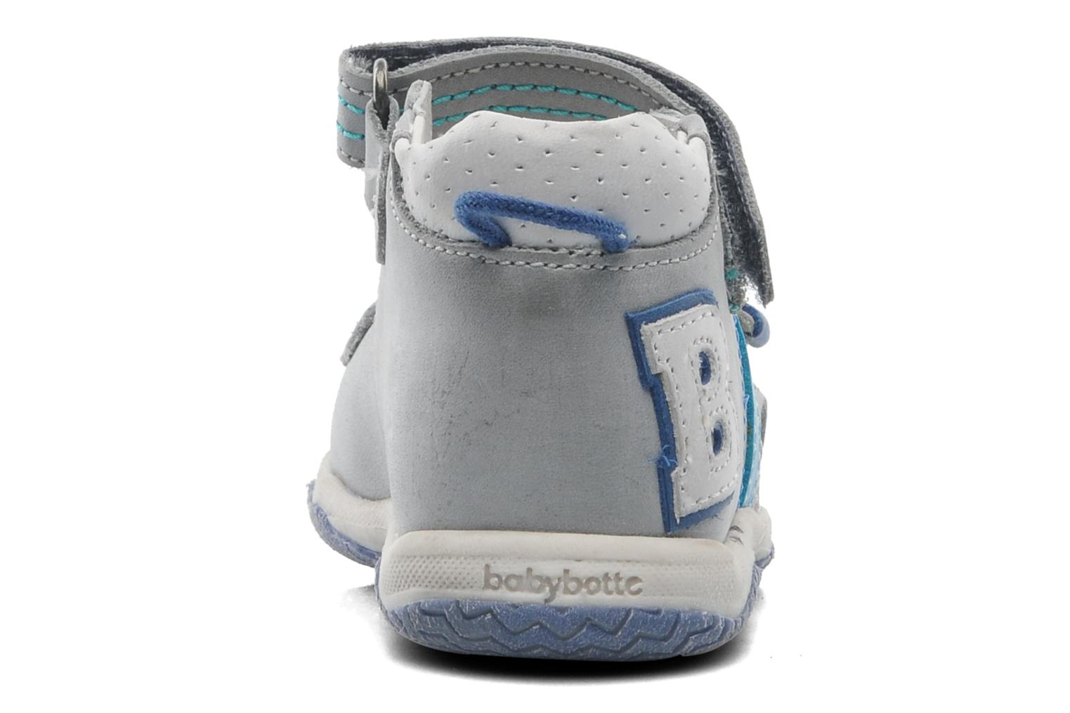 Sandals Babybotte Tom Grey view from the right