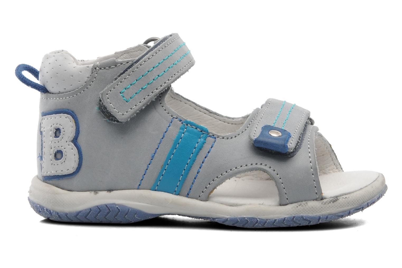 Sandales et nu-pieds Babybotte Tom Gris vue derrière