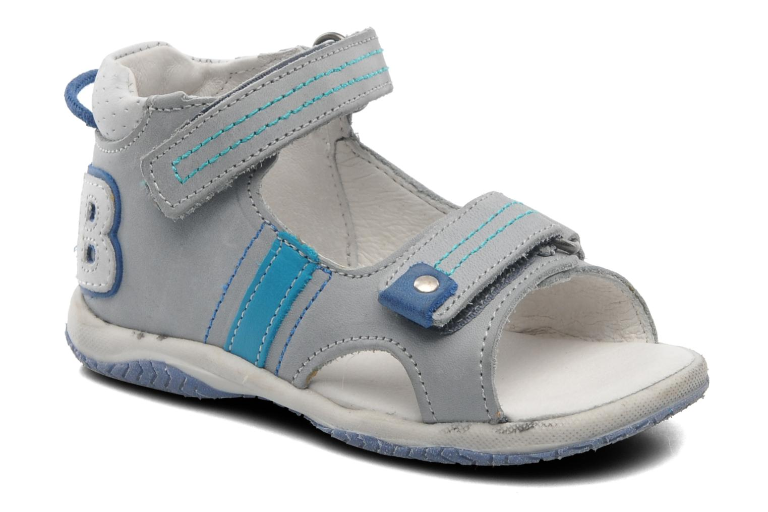 Sandals Babybotte Tom Grey detailed view/ Pair view