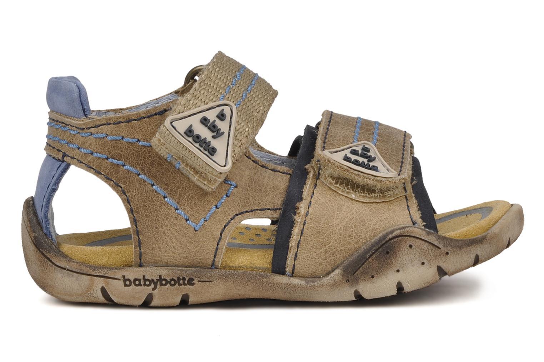 Sandales et nu-pieds Babybotte Tchin Marron vue derrière