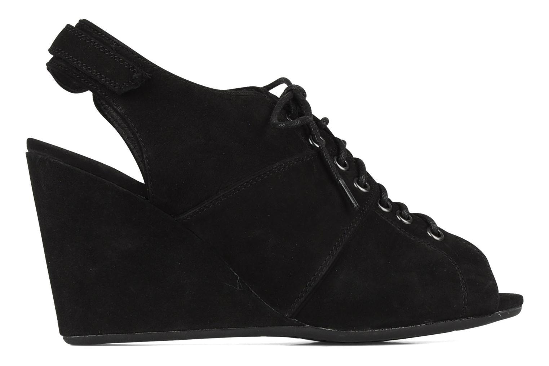 Sandalen No Name Diva open toe Zwart achterkant