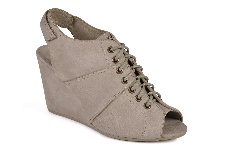 Sandaler No Name Diva open toe Grå detaljeret billede af skoene