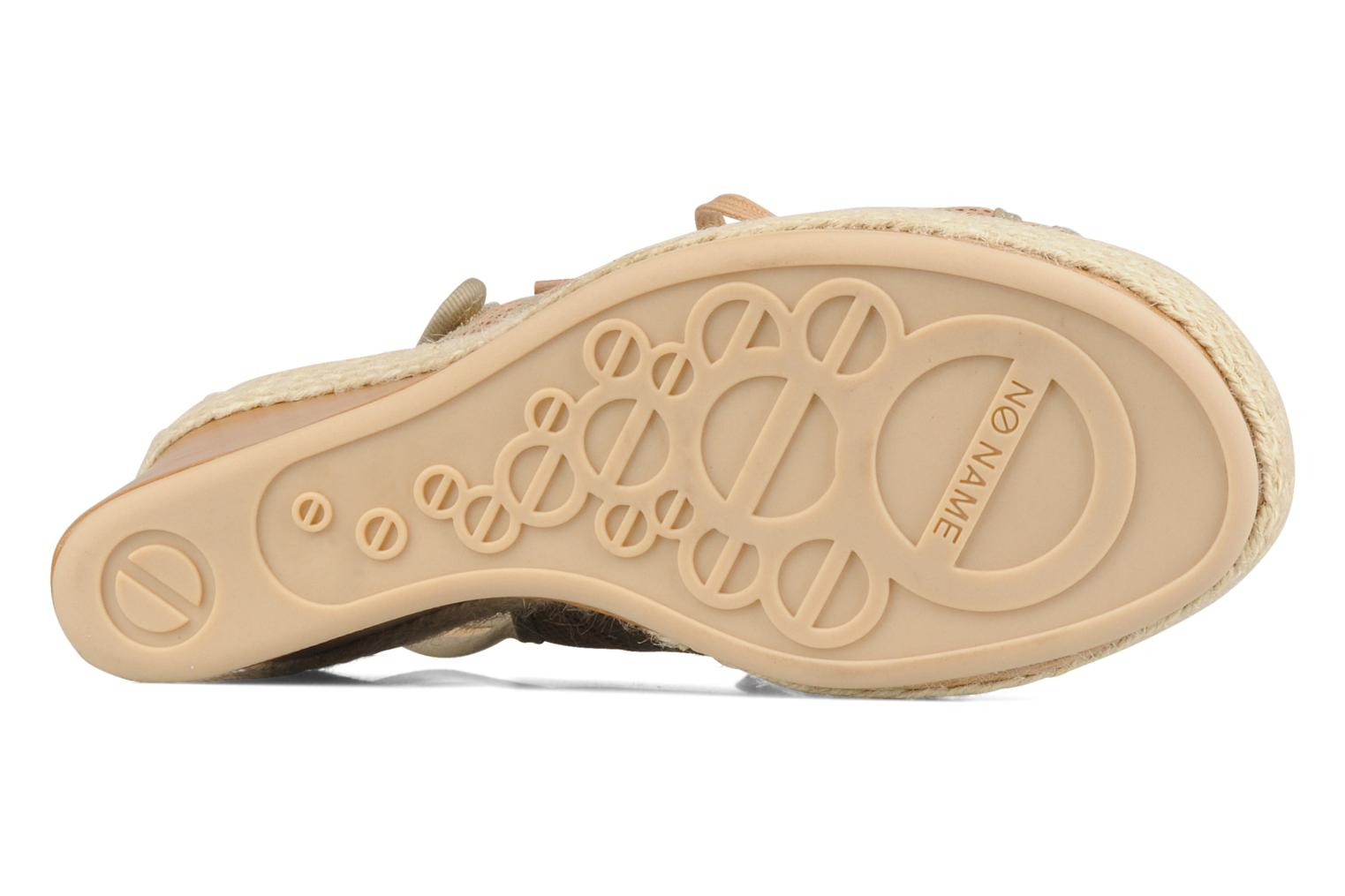 Sandals No Name Malaga tennis city Beige view from above