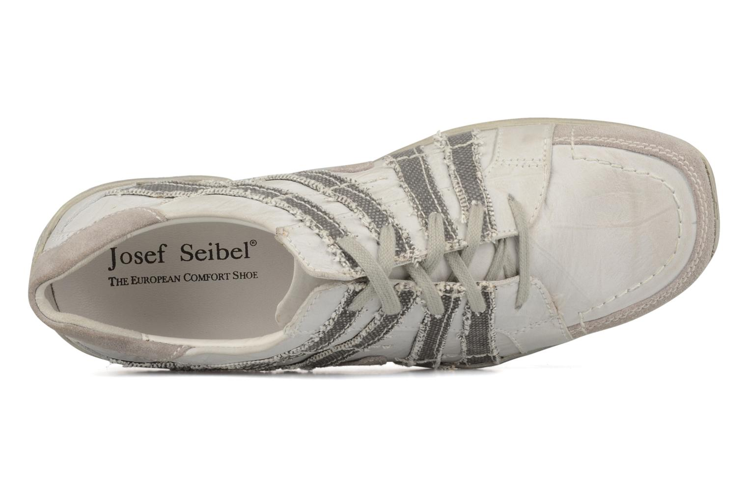 Lace-up shoes Josef Seibel Morton White view from the left