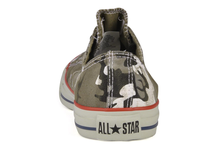 Baskets Converse Chuck taylor all star vagabond camo print ox m Vert vue droite