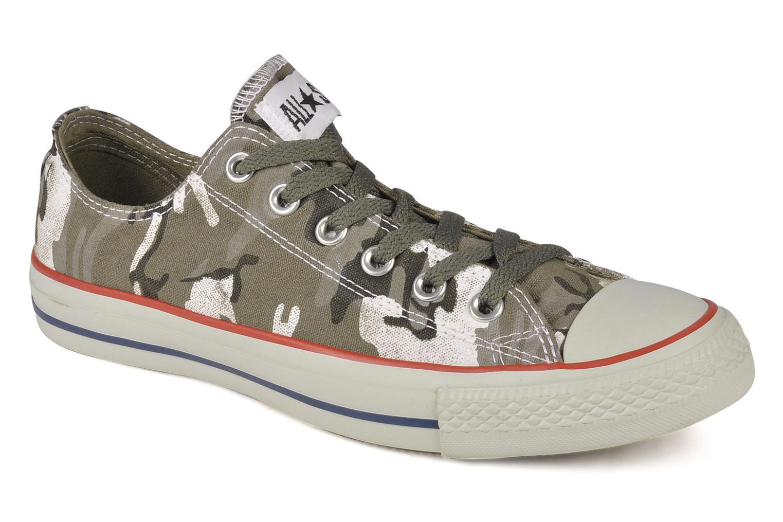 Baskets Converse Chuck taylor all star vagabond camo print ox m Vert vue détail/paire
