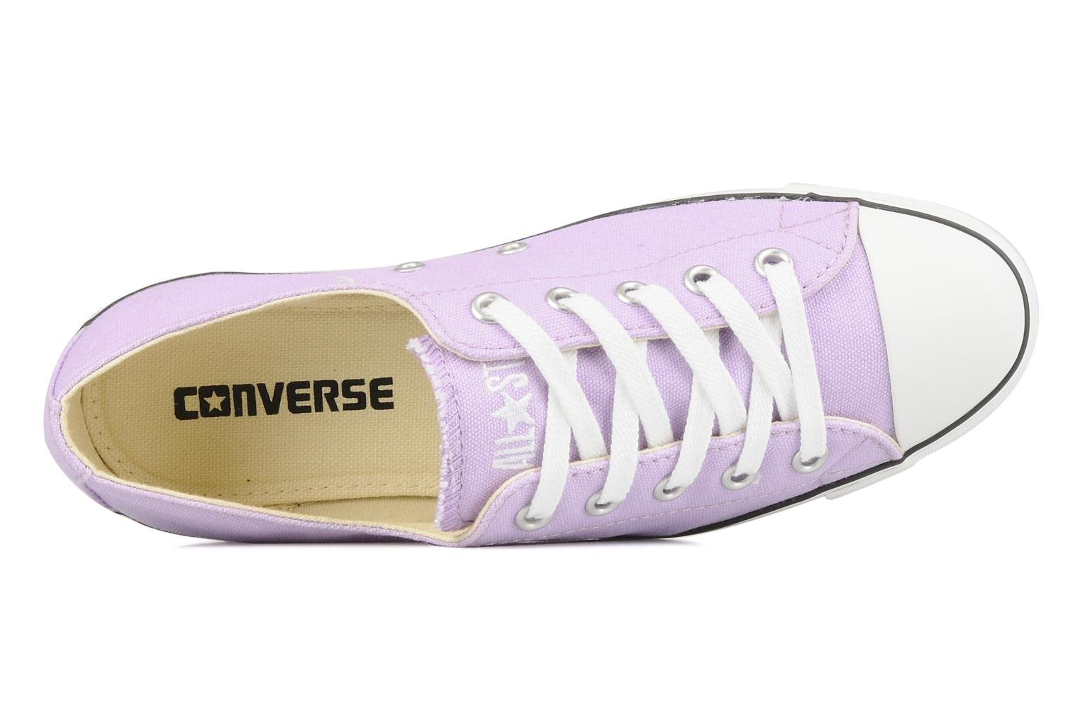 Baskets Converse All Star Light Canvas Ox W Violet vue gauche