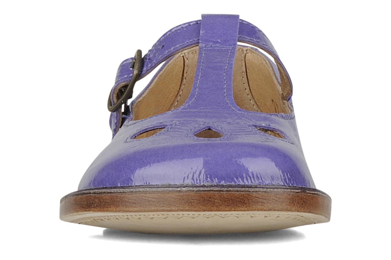 Ballerines PèPè Pipit Violet vue portées chaussures