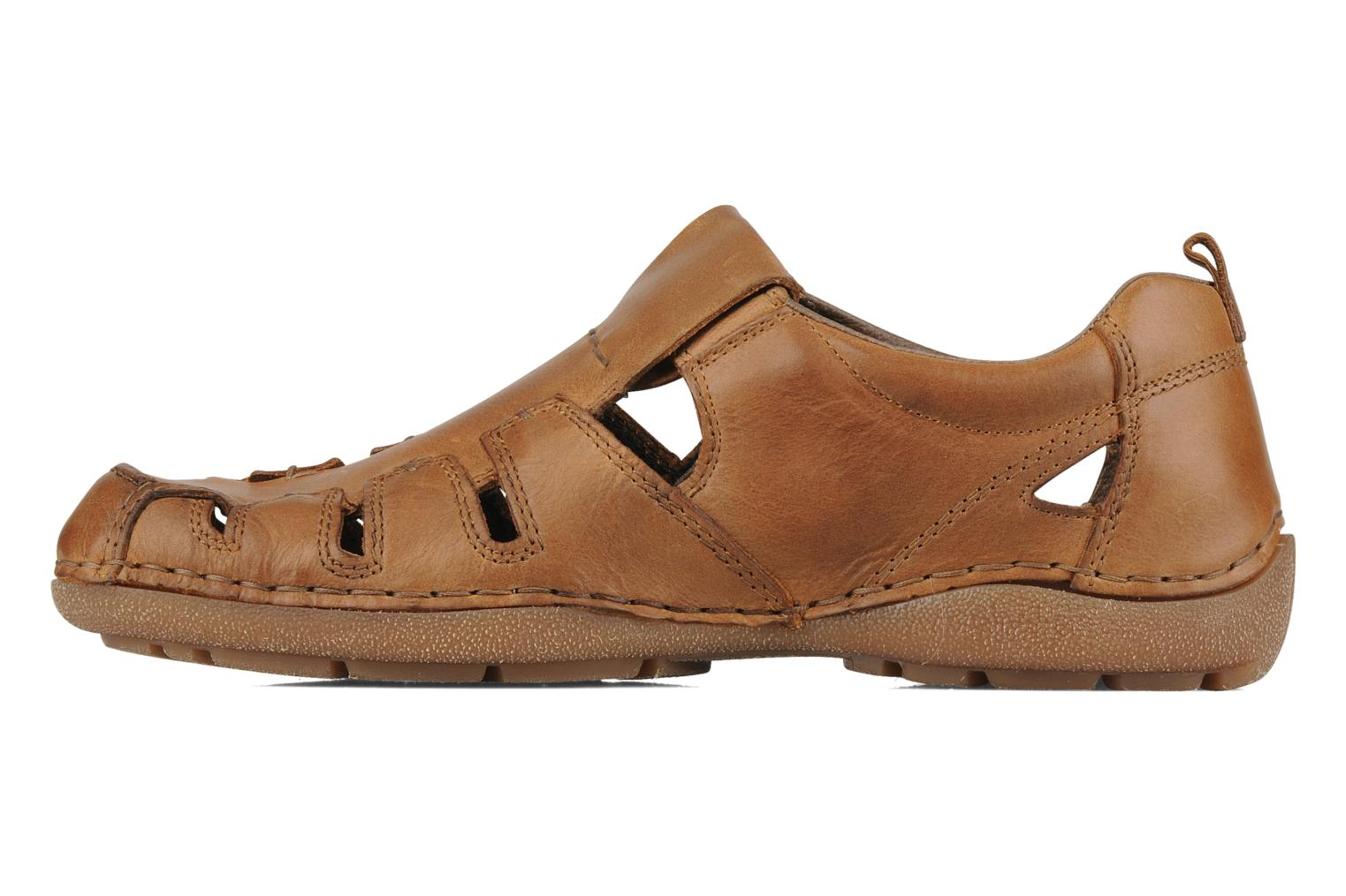 Sandals Rieker Ansgar 05576 Brown front view