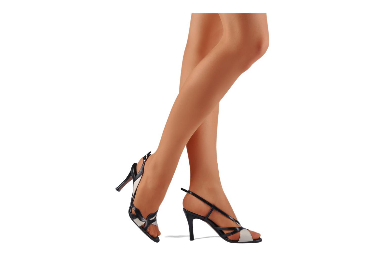 Sandales et nu-pieds Michel Perry Vesta Multicolore vue bas / vue portée sac
