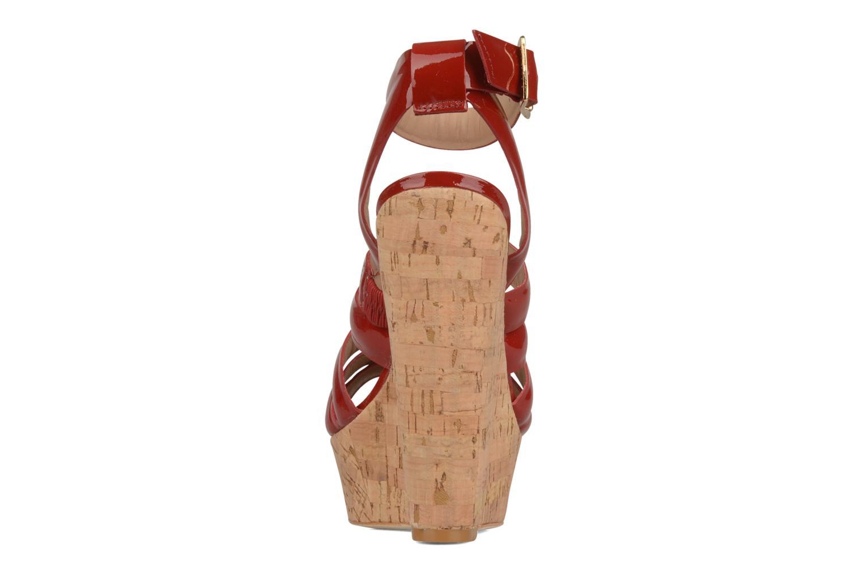 Sandales et nu-pieds Pour La Victoire Jessie Rouge vue droite