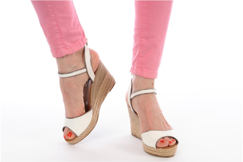 Scarpe di corda Latinas Dolores Bianco immagine dal basso