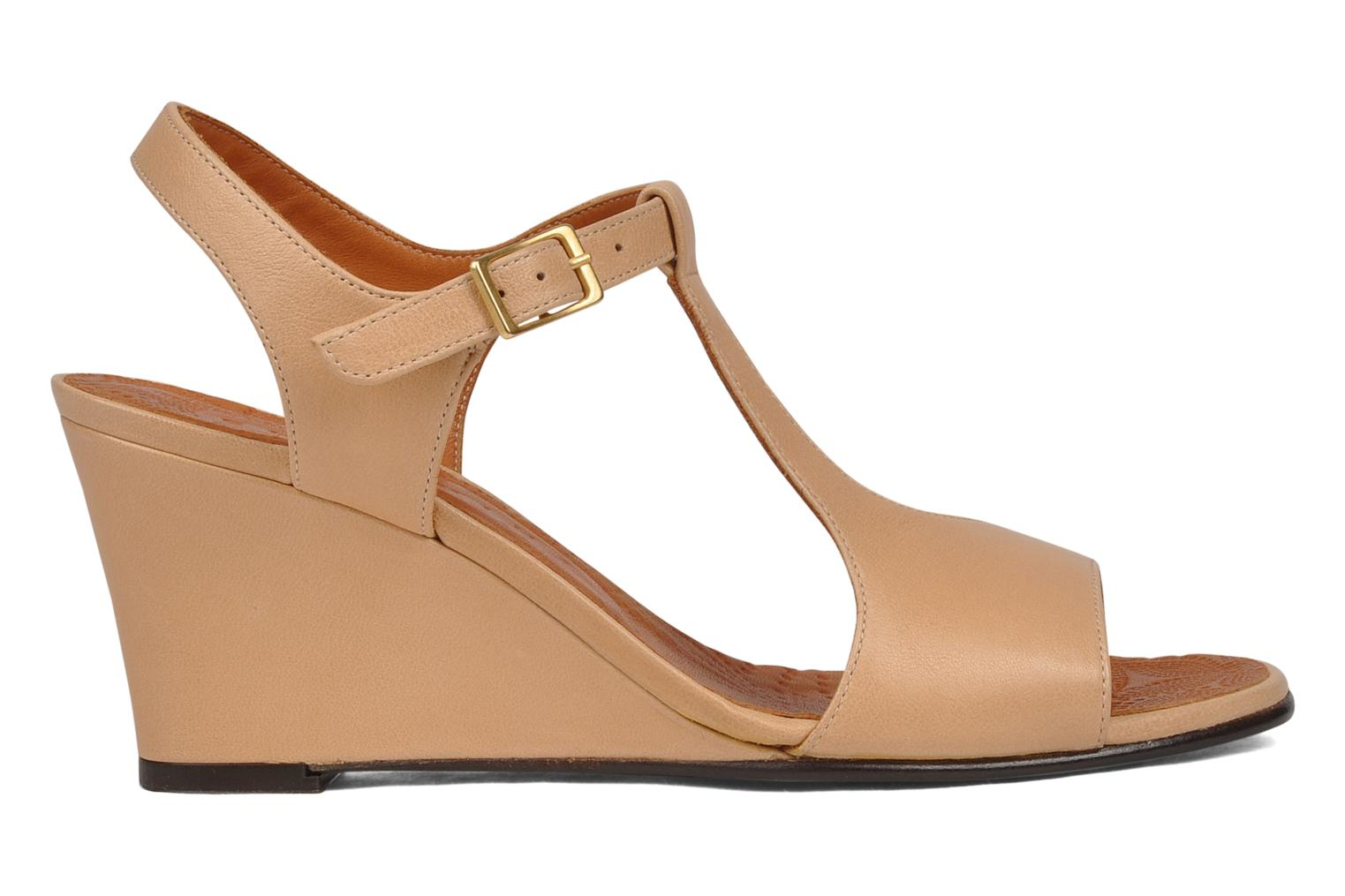 Sandals Chie Mihara Reparto Beige back view