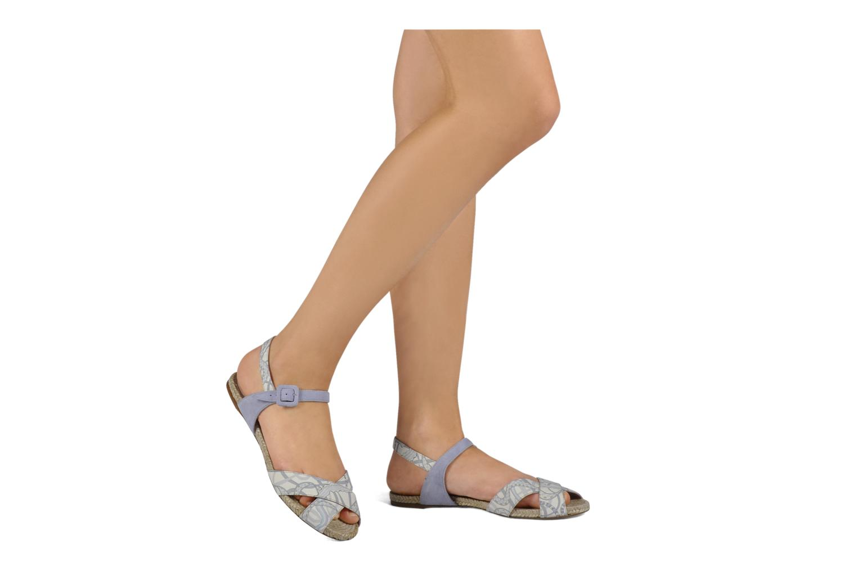Sandales et nu-pieds Annabel Winship Hopper Gris vue bas / vue portée sac