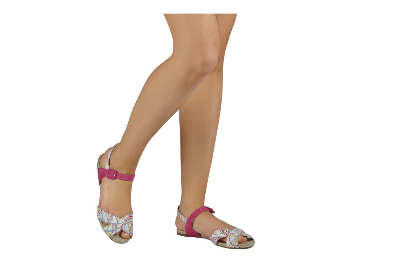 Sandales et nu-pieds Annabel Winship Hopper Rouge vue bas / vue portée sac