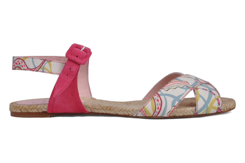Sandales et nu-pieds Annabel Winship Hopper Rouge vue derrière
