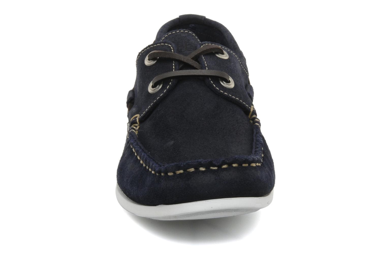 Zapatos con cordones TBS Asfeld Azul vista del modelo