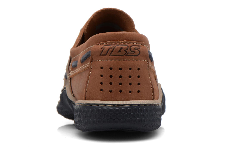 Chaussures à lacets TBS Globek Marron vue droite