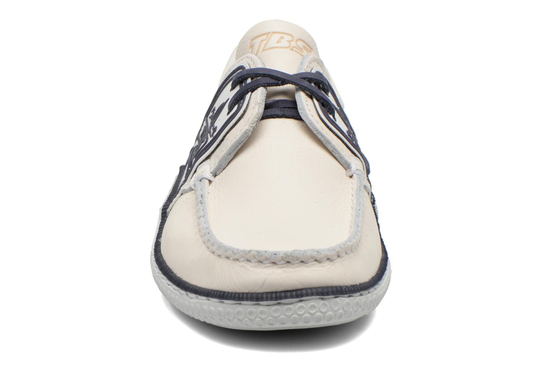 Chaussures à lacets TBS Globek Blanc vue portées chaussures