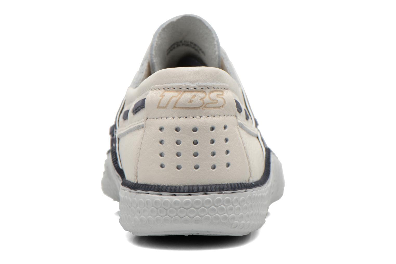 Chaussures à lacets TBS Globek Blanc vue droite