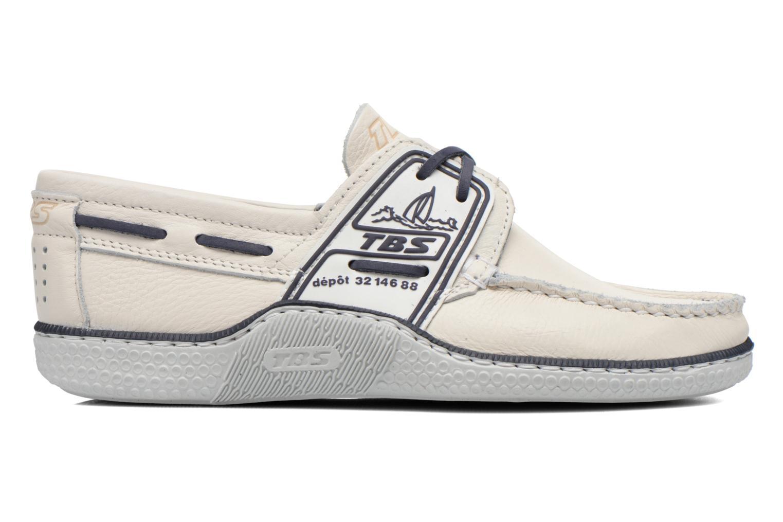 Chaussures à lacets TBS Globek Blanc vue derrière